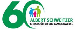 Logo 60 Jahre Albert-Schweitzer-Kinderdörfer und Familienwerke