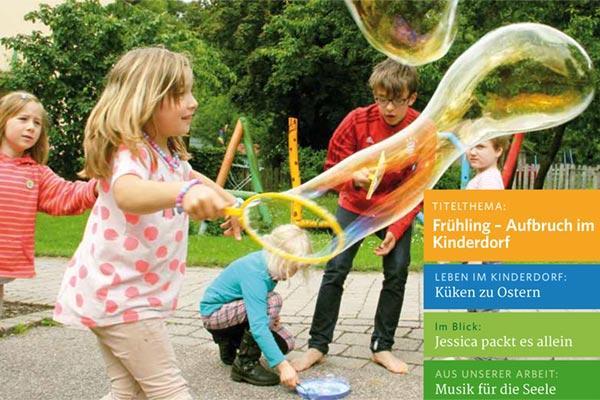 Kinderland 01/2019 - Frühling - Aufbruch im Kinderdorf