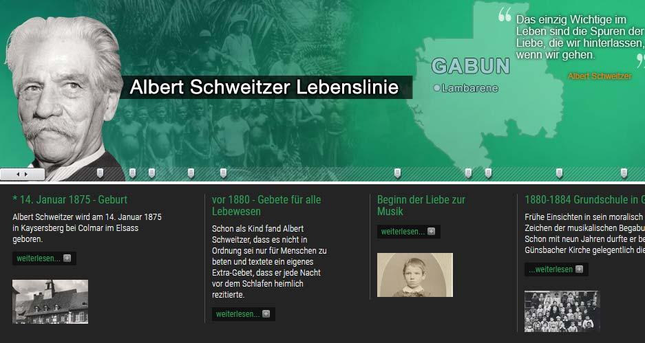 Ds Leben Albert Schweitzers