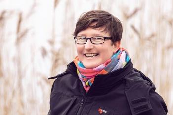 Anja Lippa, Leiterin der Erziehungsstelle